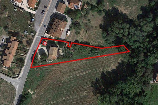 Immagine n1 - Planimetria - Vista aerea - Asta 7566
