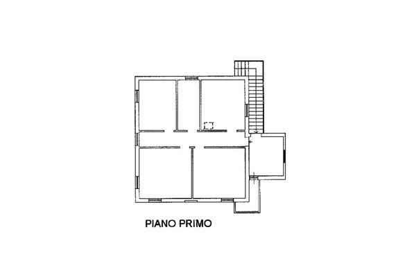 Immagine n0 - Planimetria - Piano primo - Asta 7566