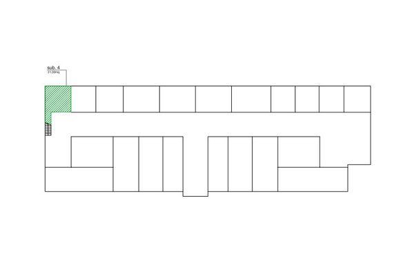 Immagine n1 - Planimetria - Piano interrato - Asta 7568