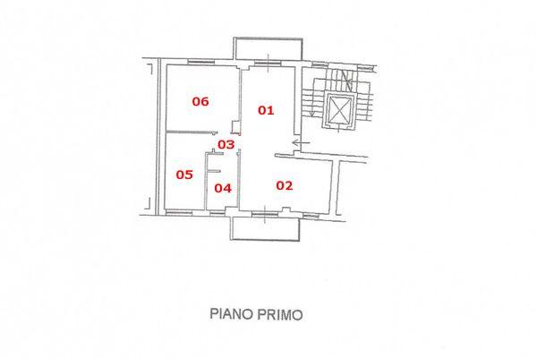 Immagine n1 - Planimetria - Piano primo - Asta 7575