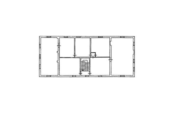 Immagine n2 - Planimetria - Piano primo - Asta 7577