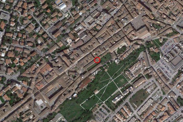 Immagine n0 - Planimetria - Vista aerea - Asta 7578