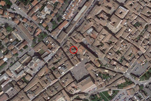 Immagine n0 - Planimetria - Vista aerea - Asta 7582