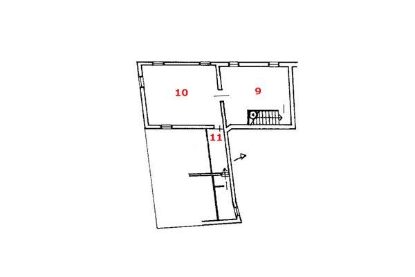 Immagine n0 - Planimetria - Piano secondo - Asta 7582