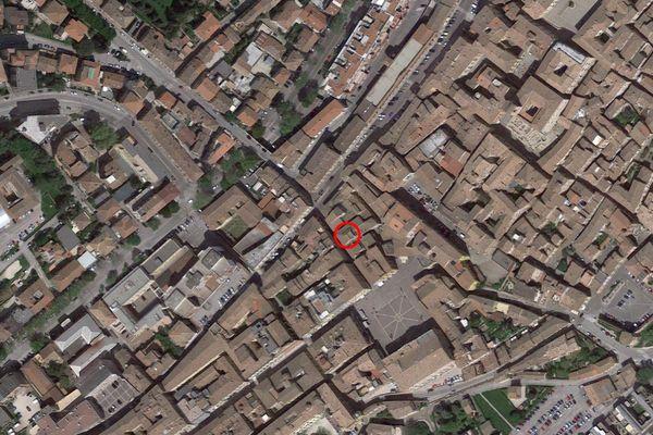 Immagine n0 - Planimetria - Vista aerea - Asta 7584