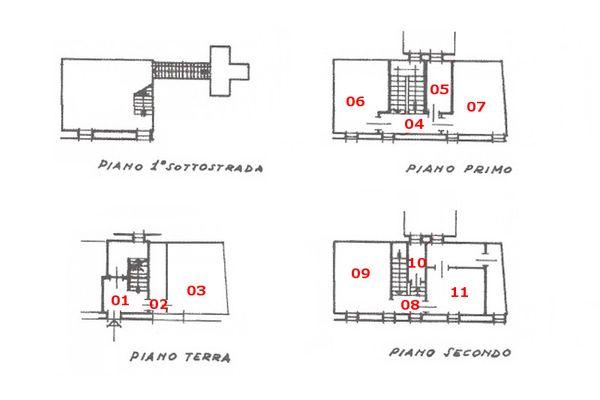 Immagine n2 - Planimetria - Elaborato planimetrico - Asta 7584