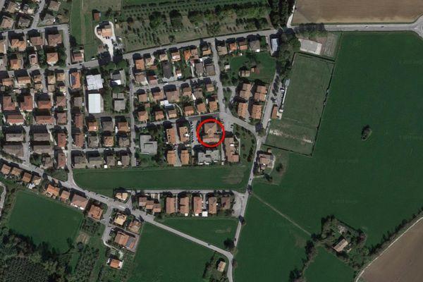 Immagine n0 - Planimetria - Vista aerea - Asta 7591