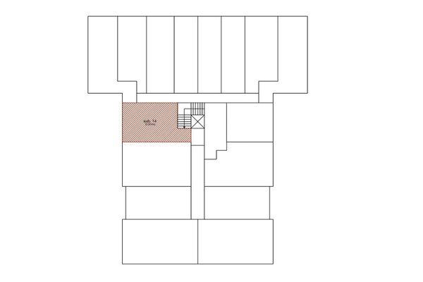 Immagine n1 - Planimetria - Piano interrato - Asta 7591