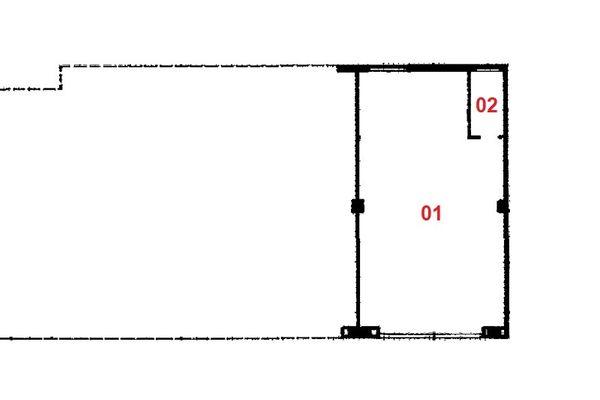 Immagine n1 - Planimetry - Ground floor - Asta 7603