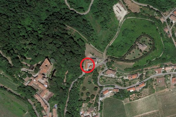 Immagine n0 - Planimetria - Vista aerea - Asta 7613