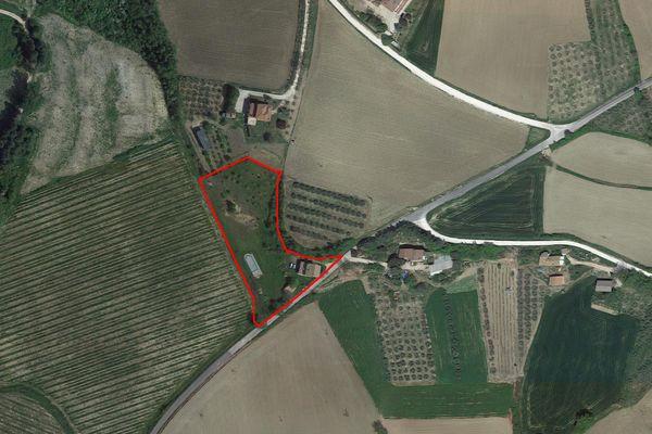 Immagine n1 - Planimetria - Vista aerea - Asta 7625