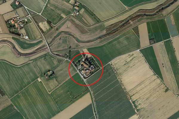 Immagine n0 - Planimetria - Vista aerea - Asta 7666