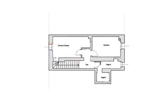Immagine n2 - Planimetria - Piano Secondo - Asta 7666