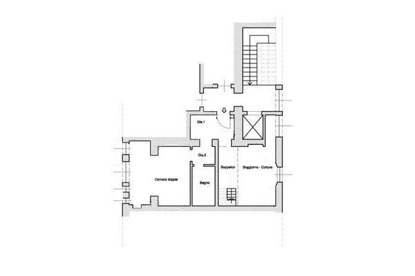 Immagine n0 - Planimetria - Piano Secondo - Asta 7669