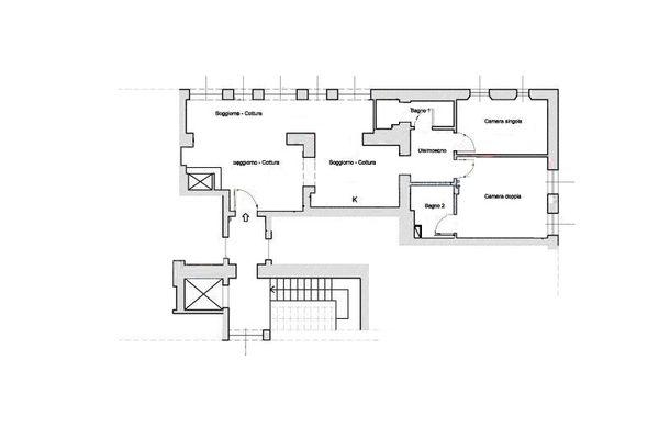 Immagine n0 - Planimetria - Piano Secondo - Asta 7670