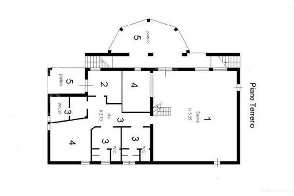 Immagine n0 - Planimetria - Piano terra - Asta 7676