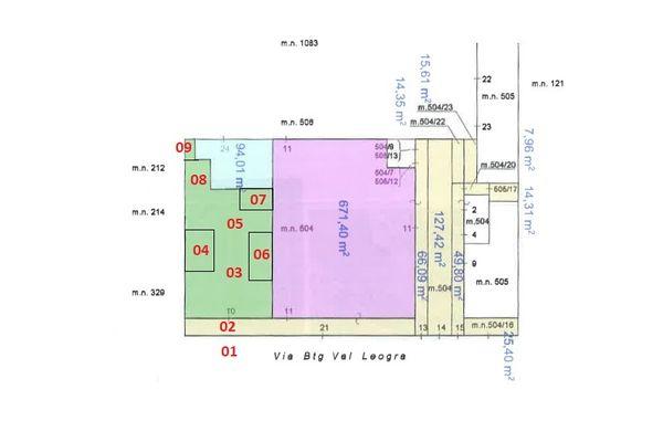 Immagine n1 - Planimetria - Elaborato planimetrico - Asta 7695
