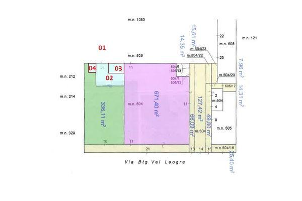 Immagine n1 - Planimetria - Elaborato planimetrico - Asta 7696