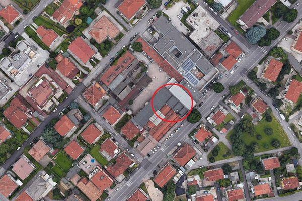 Immagine n0 - Planimetria - Vista aerea - Asta 7697