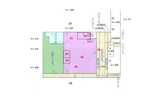 Immagine n1 - Planimetria - Elaborato planimetrico - Asta 7697