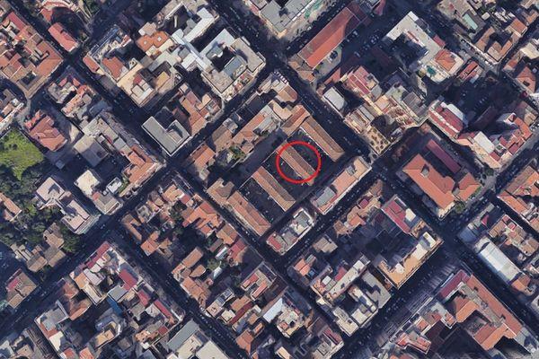 Immagine n0 - Planimetria - Vista aerea - Asta 7702