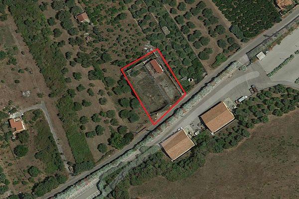 Immagine n0 - Planimetria - Vista aerea - Asta 7705