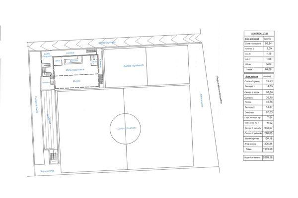 Immagine n1 - Planimetria - Piano terra - Asta 7705