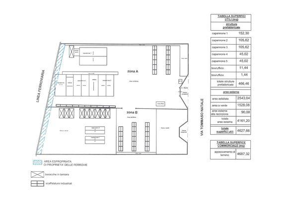 Immagine n1 - Planimetria - Piano terra - Asta 7706