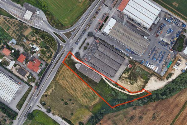 Immagine n0 - Planimetria - Vista aerea - Asta 7724