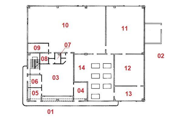 Immagine n1 - Planimetria - Piano terra - Asta 7729