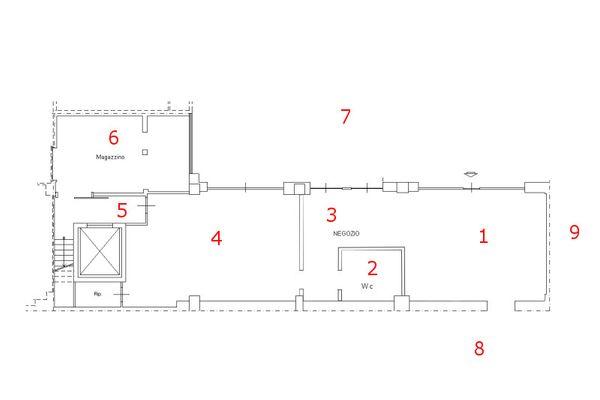 Immagine n0 - Planimetry - Ground floor - Asta 7769