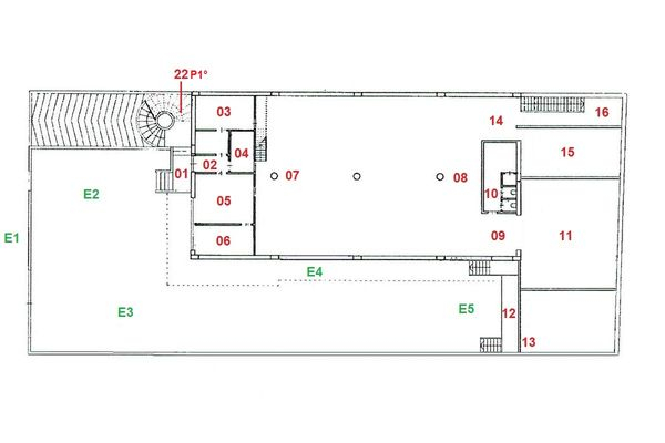 Immagine n0 - Planimetry - Ground floor - Asta 7772