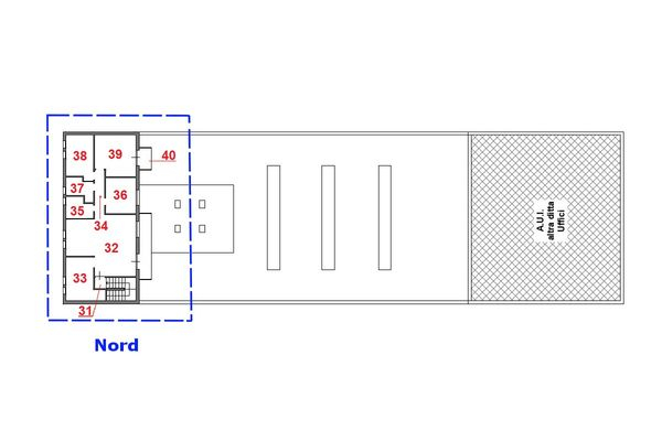 Immagine n0 - Planimetria - Piano secondo - Asta 7785