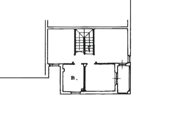 Immagine n3 - Planimetria - Piano secondo - Asta 7786