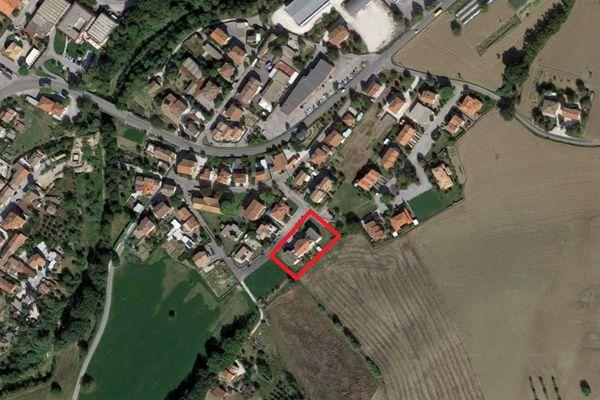 Immagine n0 - Planimetria - Vista aerea - Asta 7789