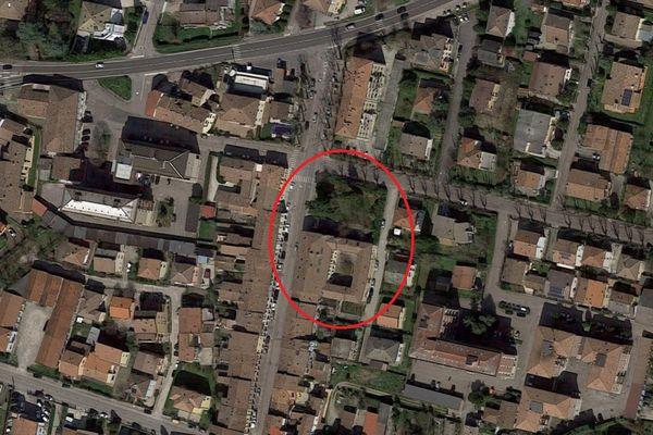 Immagine n0 - Planimetria - Vista aerea - Asta 7792