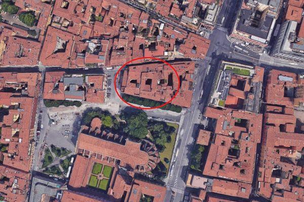Immagine n0 - Planimetria - Vista aerea - Asta 7793