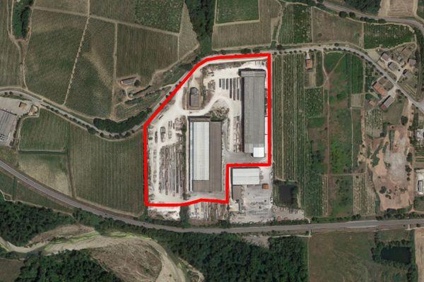 Immagine n1 - Planimetria - Vista aerea - Asta 7799