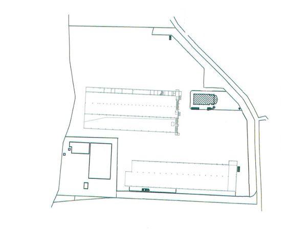 Immagine n0 - Planimetria - Piano terra capannoni - Asta 7799