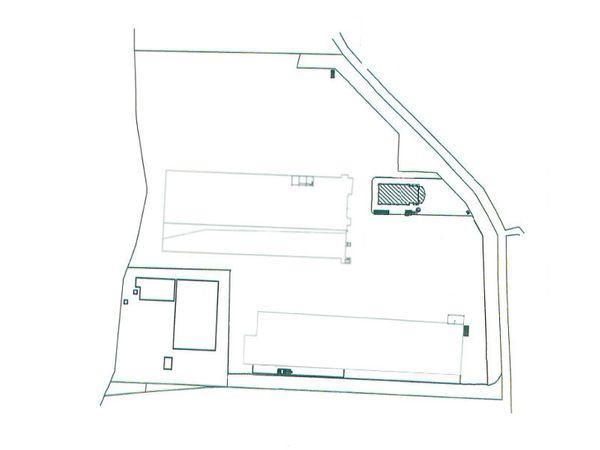 Immagine n3 - Planimetria - Piano primo capannoni - Asta 7799