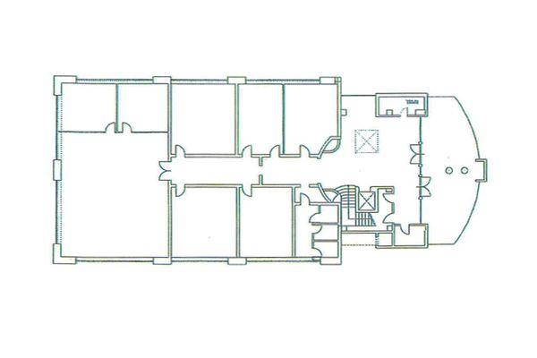 Immagine n0 - Planimetria - Piano terra uffici - Asta 7799