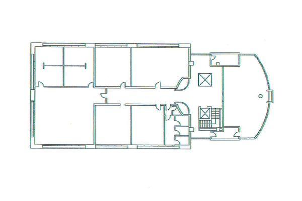Immagine n5 - Planimetria - Piano primo uffici - Asta 7799