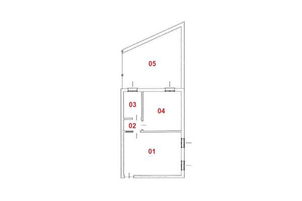 Immagine n2 - Planimetria - Piano primo - Asta 7834