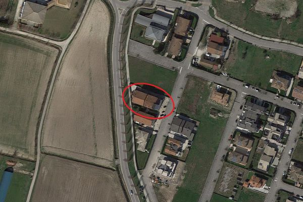 Immagine n2 - Planimetria - Vista aerea - Asta 7837