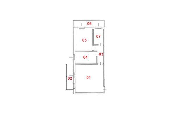 Immagine n2 - Planimetria - Piano secondo - Asta 7837