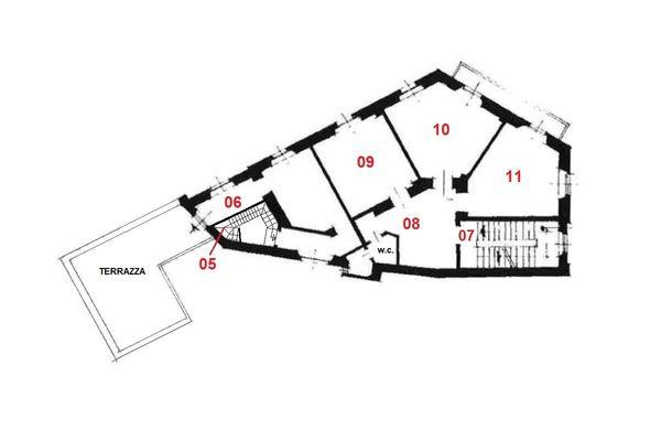 Immagine n0 - Planimetria - Piano primo - Asta 7843