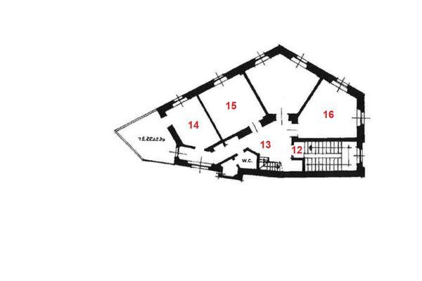 Immagine n0 - Planimetria - Piano secondo - Asta 7843
