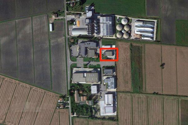 Immagine n0 - Planimetria - Vista aerea - Asta 7849
