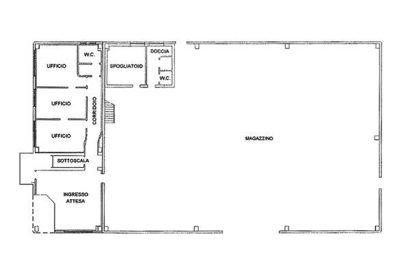 Immagine n1 - Planimetria - Piano terra - Asta 7849
