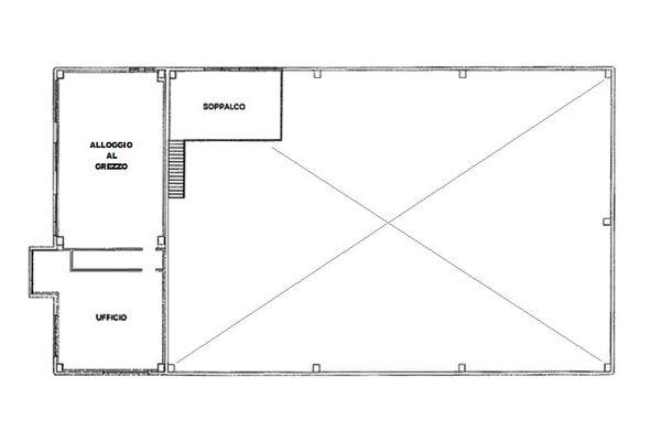 Immagine n2 - Planimetria - Piano primo - Asta 7849